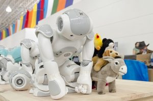 The production of robots and revenue improved